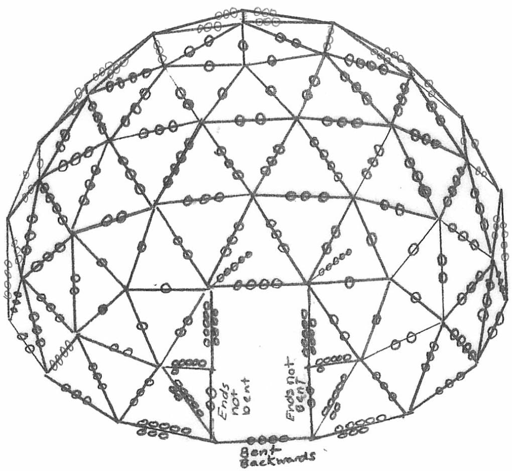 18 u2032 geodome assembly instructions geodome shelter systems rh geodome biz geodesic dome diagram dome volcano diagram
