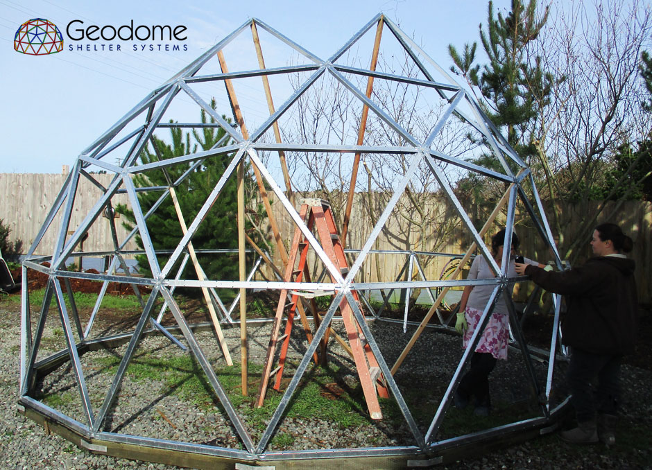 Geodome Shelter Systems Precision Machined Geodesic Domes